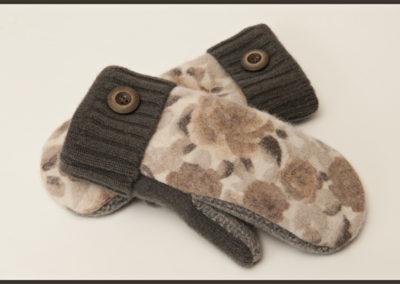 Smittens, fine felted wool mittens.
